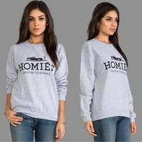Autumn Hoodies Women Hoody 2014 Casual Brian Lichtenberghomies Spoof Couples Women Pullover Sport Sweatshirt