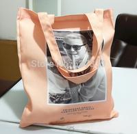 Pink dacron cloth fashion leisure laptop Shoulder   Handbag shopping bag