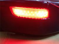 Car LED brake red rear lighting, Car LED red rear fog lamp case for LEXUS GS250 GS300 GS350 GS450 ES300 ES350 2013~ON
