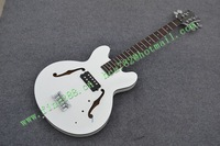 free shipping new arrived 5-strings jazz electric bass guitar in white  made in China F-1881