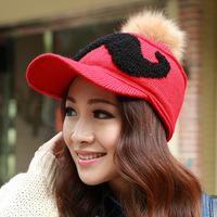 Autumn and winter with thick warm velvet hat Mao Xianmao beard Han Bannv DG0908