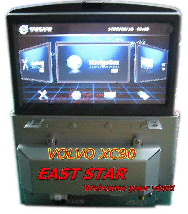 Free shipping Volvo XC90 Multimedia CAR DVD System Built-in GPS Bluetooth CD MP3/4 Radio Tuner TV ES-1701(China (Mainland))