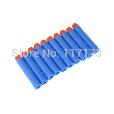 10pcs/lot nerf n- Streik Elite Amoklauf retaliator Serie Blaster refill-clip Darts elektrische spielzeug pistole weichen nerf bullet