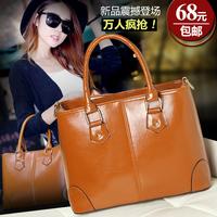 Genuine leather women's handbag 2014 fashion cowhide female handbag cross-body women's one shoulder bag