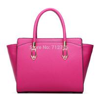 Simulation leather handbag big smiling face bag
