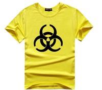 2015 New Style The Big Bang Resident Evil Logo  t-shirt 100% Cotton O-Neck Holistic women T shirt tees Free Shipping T10