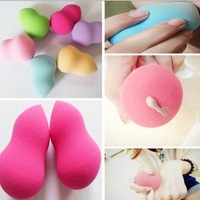 Free Shipping New Soft Makeup Foundation Sponge Blender Blending Cosmetic Puff Flawless Powder Smooth Beauty Make Up Tool Gift
