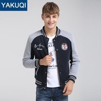 New Hot Sale Famous Brand Men's Baseball Jacket 3 Colors Jackets and Coats At Spring & Autumn