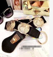 European style golden autumn wild waistband great circle poll,belts for women,mens belts luxury,belts for men