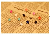 Wholesale 50pairs/lot Five-pointed Star Stud Earring Fashion Earrings Jewelry for Women