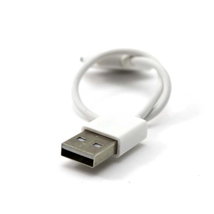 White Short usb cable for iPhone 4 4S 3G 3GS(China (Mainland))