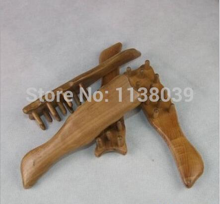 Vietnam Rosewood Mahogany Massager Head Wooden Environmental Massager Care Comb(China (Mainland))