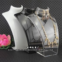 Free Shipping 3 Model Aircraft Necklace Hold Rack Portrait Frame Jewelry Display Crystal Clear High Quality Boxing Day Sale