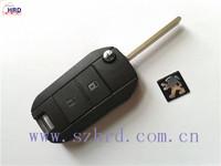 Flip Folding Remote Key Shell Case For Peugeot 106 205 206 306 405 2BT DKT0268