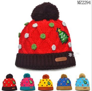 5pcs/lot Children Crochet Knitted Baby Hat Lovely Newborn Baby Beanies Caps Child Handmade Photography Props Hat Retail LL0272(China (Mainland))