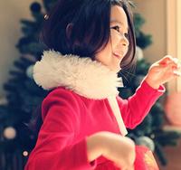 Free Shipping 1PC/Lot   High Quality Child Kids Girls Scarves Fashion Warm Winter Autumn Poncho Cool Princess Fur Scarf Soft