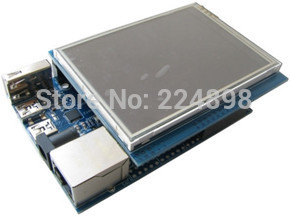 Cortex-M4 STM32F407VGT6 STM32F407 Development Kit + 3.2 inch Touch Screen 320*240 + 130W Pixel Camera Module ISP Download(China (Mainland))