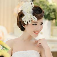 Bridal hair accessories Korean hairpin head flower bridal hair accessories popular fine gripper authentic headdress wedding pear