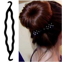 3pcs New Wholesale Lot Magic Bun Hair Twist Braid Tool Styling Clip Care Easy Hair Accessories Free Ship FS2005