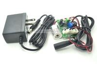 Industrial 12V 100mw 405nm Blue/Violet Light Laser Module w/TTL 18x25mm with US plug AC adapter