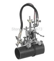 Free ship new Manual Pipe Cutting Beveling Machine Torch Track Cutter