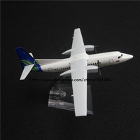 14cm Alloy Metal Air Malaysia MAS MASwings Fokker F-50 F50 Airlines Airways Plane Model Airplane Model w Stand Aircraft Toy Gift