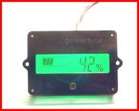 LCD Indicator Lead-acid Lithium Battery capacity Tester for 12V 24V 36V 48V Cell LiPo 5pcs