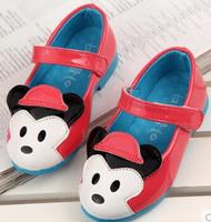 Retail 1pair Children cartoon brand sports shoes Rivet kids' shoes children shoes 21 22 23 24 26 27 28 29 30