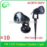 Modern Style Outdoor 3w garden light  out door light IP65 3w lawn light led inground light