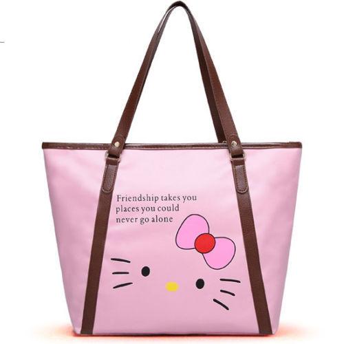 New Hello Kitty Shopping Tote Bag Purse yey-1012P(China (Mainland))