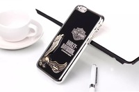Yosa02 Cool eagle pattern electroplate case for iphone6 6 plus unique design cover for iphone6 plus 5.5 inch HK free shipping