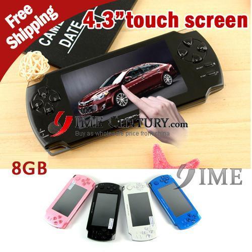 Портативная игровая консоль IME 8GB , 4,3/, 3D Flash 43touch01 игровая консоль sony playstation 4 slim с 1 тб памяти игрой destiny 2 cuh 2108b черный