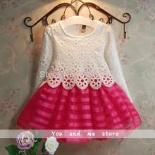 2014 Hot Baby Girls Dress Baby Dress kids wear girls Princess party dress kids clothes vestidos infantis, vestidos de menina(China (Mainland))