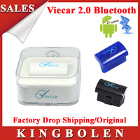 2014 New Arrival MINI Elm327 Viecar 2.0 OBD2 Bluetooth Interface Auto Diagnostic Scanner Support Android/Windows/Symbian System
