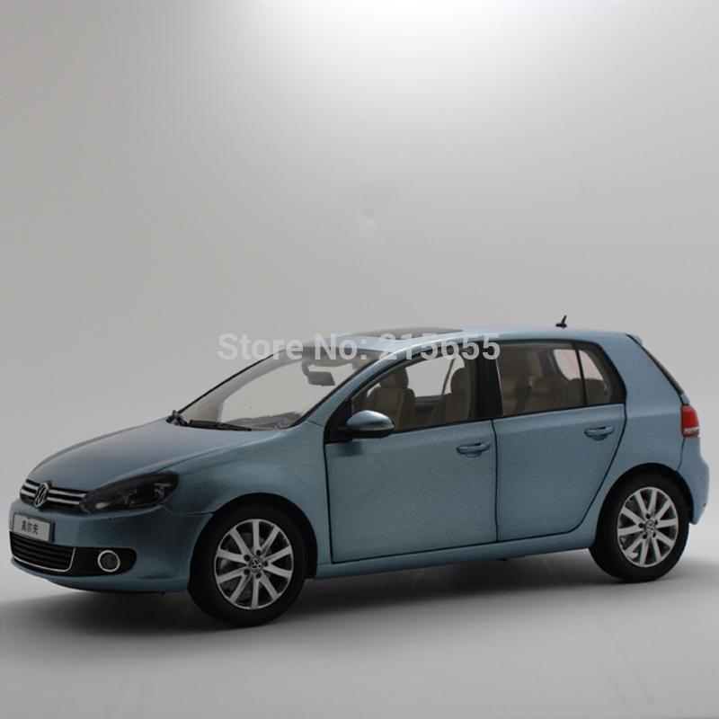 ORIGINAL MODEL 1:18 Volkswagen,FAW VW GOLF TSI 2011,MK6,SILVER BLUE(China (Mainland))