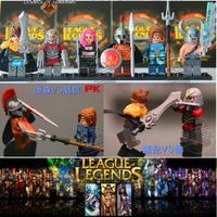 6pcs/Lot LOL Series Action&Toy Figures Minifigures Model Blocks DIY Building Toys IQ Exercise Figures