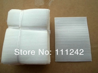 11x8 cm White Plastic soft sponge Package Bag,for charger Electronic accessories for Non sticky mouth Packaging bag