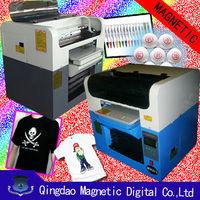 light color T shirt printing machine