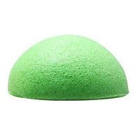 T2N2 New Natural Konjac Konnyaku Facial Puff Face Wash Cleansing Sponge Green