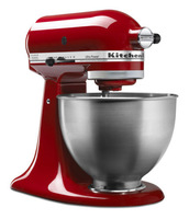 America original KitchenAid Ultra Power 4.5 Quart Tilt-Head Stand Mixer Blender Red KSM95ER  food dough