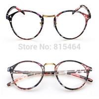 Vintage round shape hot sale unisex eyeglasses frames free shipping,designers brand lighter eyewear optical frame