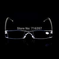 2015 Wholesale 50pcs/lot fashion unisex transparent plastic reading glasses ultralight PC presbyopic glasses