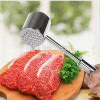 Knock Meat Hammer Steak Hammer Kitchen Tools Stainless Steel Meat Tenderizer Pounder for home restaurant