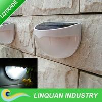 Light control solar LED wall light/solar Sensing light/outdoor garden lamp fence light