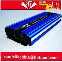1500W Pure Sine Wave Power Inverter Converter 12V DC to 220V AC 3000 Watt Peak