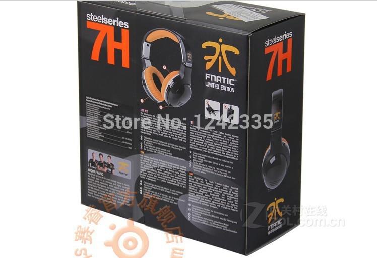 Original Brand Gaming Headset Headphones Steelseries 7H Champion Fnatic Dota 2 PC Computer Consumer Electronics Noise