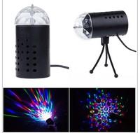 shenzhen  RGB Rotating Mini Round LED Bulb Crystal Magic Ball Light Stage Lamp for DJ Party Disco Bar KTV Lighting