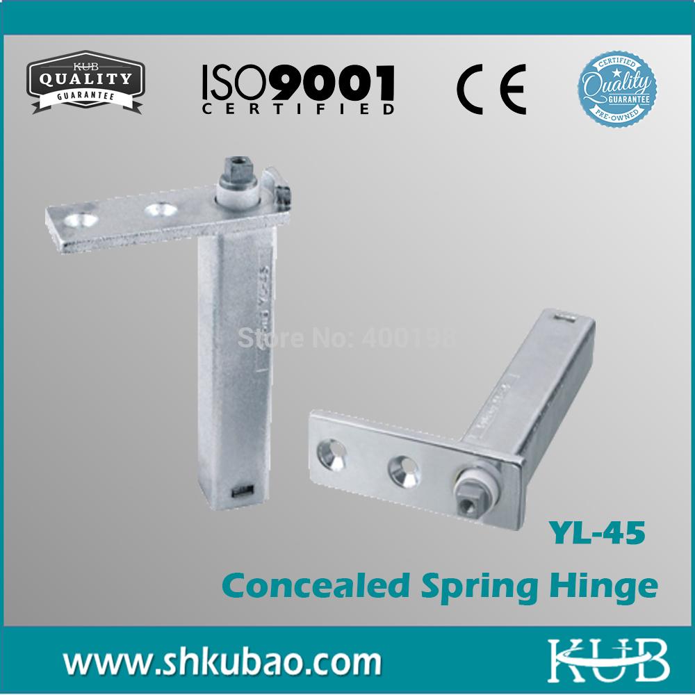 Free Shipping adjustable door hinge for metal doors YL-45 Spring Hinge(China (Mainland))