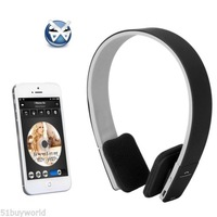 Wireless Bluetooth Stereo Headphones Headset with Mic for iPhone 5S 5C 5 4S In-ear Sport  Earphone  headphones  Headset