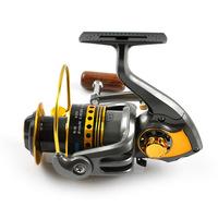 Fishing Reel 5.5:1 10BB+1RB High Quality Front Drag Spining Reel  Spining Wheel Fake Bait Takel Free Shipping
